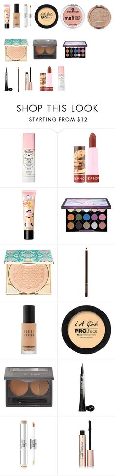 """""""MOTD"""" by tyronewelle ❤ liked on Polyvore featuring beauty, Too Faced Cosmetics, Sephora Collection, Urban Decay, Tom Ford, Bobbi Brown Cosmetics, ULTA, It Cosmetics and L'Oréal Paris"""