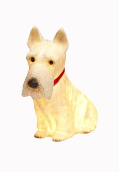 scotty dog lamp 'down to the woods'