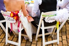 So many fun ideas, look at this beautiful AND unique wedding reception!  Charming, eclectic, simple, and brilliant!