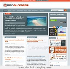 Blog Tips to Help You Make Money Blogging - ProBlogger - Click to visit site:  http://1.33x.us/syHlOT
