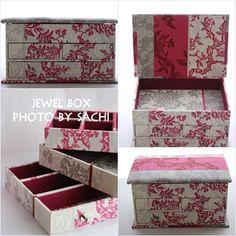 ジュエリーボックス Jewel Box, Decorative Boxes, Home Decor, Organizers, Jewelry Storage, Room Decor, Jewellery Box, Home Interior Design, Decoration Home