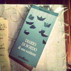 Diario di bordo di uno scrittore. Björn Larsson #book #bookshelf #bookporn via Instagram http://ift.tt/1nwpgM6