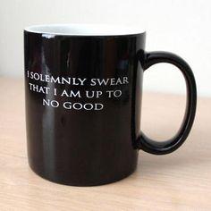 Harry Potter I Solemnly Swear...Mischief Managed Heat Transforming Mug