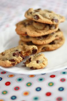 The 2008 New York Times Chocolate Chip Cookie ~ I tried it and liked it better than Toll House.