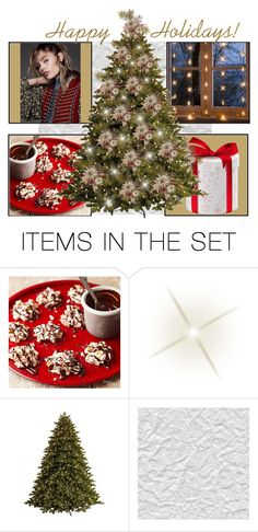 """""""HAPPY HOLIDAYS, POLYVORE!"""" by miafortune on Polyvore featuring art"""