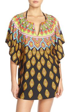 3e53d813d6ca3 Trina Turk Trina Turk  Moroccan Medallion  Print Cover-Up Tunic available  at