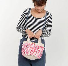 Ravelry: 210-211-44 Marshmallow Bag pattern by Pierrot (Gosyo Co., Ltd)