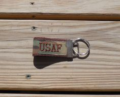 Embroidered US Air Force Mini Military Key by GabbysQuiltsNSupply