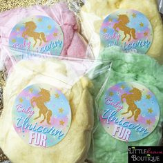 Unicorn Stickers,Unicorn Birthday party,Baby Unicorn Fur,Cotton Candy,Unicorn Hair,Personalizaed stickers,Rainbow Unicorn,unicorn favors by LittlebeaneBoutique on Etsy https://www.etsy.com/listing/524263037/unicorn-stickersunicorn-birthday