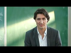 Justin Trudeau. Here to Serve ideal positioning for Cdn public tired of cynicism and negativity of Conservative Party.