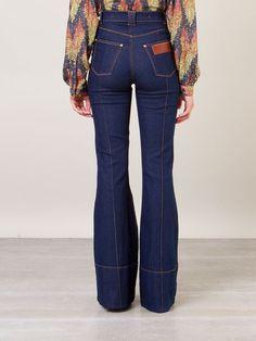 Amapô Calça Jeans Flare Cintura Alta - Amapô - Farfetch.com