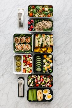 Lunch Meal Prep, Healthy Meal Prep, Healthy Recipes, Healthy Salads, Bento Box Lunch For Adults, Bento Lunch Ideas, Adult Lunch Box, Good Lunch Ideas, Vegetarian Lunch Ideas For Work