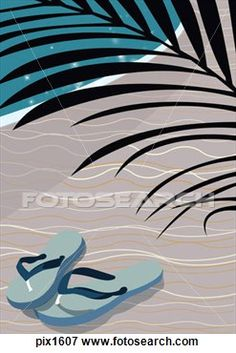 a1866b6b3a867f Flip Flop Illustrations and Stock Art. 1