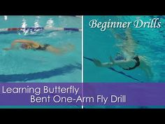 Beginner Drills | Bent One Arm Fly | Learning Butterfly - YouTube