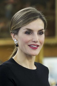 6/2/2016 King Felipe and Queen Letizia Meet Medical and Scientific Personalities at Zarzuela Palace