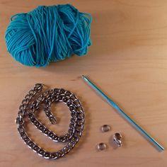Crochet Chain Necklace by Kollabora   Project   Jewelry   Crochet / Necklaces   Kollabora