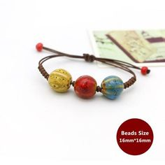 Weaving Bohemia Ceramic Bracelet Charm Jewelry Charm Jewelry Outfit Accessories From Touchy Style Charm Bracelets For Girls, Bracelets With Meaning, Cheap Bracelets, Bracelets For Men, Handmade Bracelets, Beaded Bracelets, Rope Bracelets, Teenager Fashion Trends, Jewelry Trends 2018