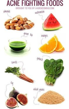 Acne fighting foods #healthyskin | healthy skin food | | healthy skin diet | | food for healthy skin | https://www.sevenminerals.com/