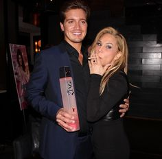 Jacob Busch and Adrienne Maloof at LA Fashion Mag Oct Issue Party The Thompson in Beverly Hills