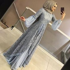 Model Dress brukat untuk lebaran 2020 – ND Dress Brokat Muslim, Dress Brokat Modern, Kebaya Modern Dress, Dress Pesta, Muslim Dress, Dress Brukat, The Dress, Dress Outfits, Hijab Evening Dress