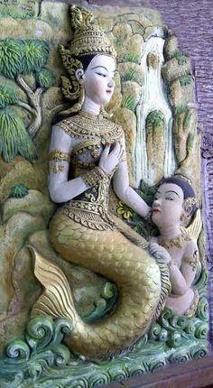 Sirène au Wat Cheddi Hoï