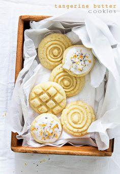 Tangerine Butter Cookies | BHG Delish Dish