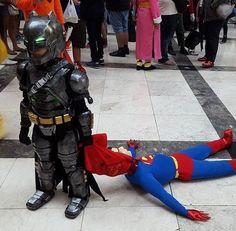 Batman Vs Superman cosplay