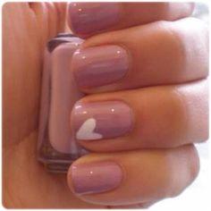 heart nails, nail polish, valentine day, wedding nails, color