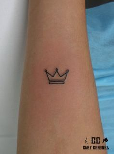 small crown tattoos - Google Search More