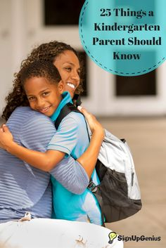 25 tips and ideas for kindergarten parents. Be prepared for your little student's first year in elementary school.