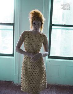 Photography: Nick Hudson Styled by: Ye Young Kim Hair: Dennis Lanni Makeup Fredrik Stambro Model: Bella Hadid