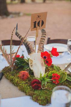Southwestern wedding centerpiece | Photo by Betsy