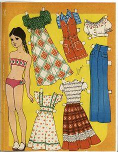 Mujeres - Бумажные куклы из журналов
