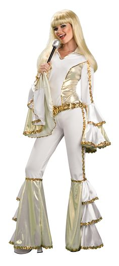 Grooving 70s Disco Dancer Costume - Great for disco themes, 60s or 70s and…