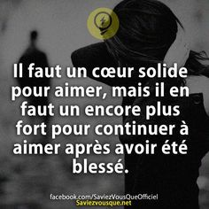 wééé j'ai un keur hyper hyper fauuuuurt moa :) French Quotes, Bad Mood, New Love, Positive Attitude, Love Life, Cool Words, Sentences, Decir No, Affirmations