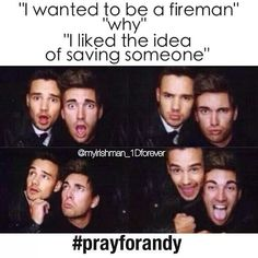 #prayforandy Hope you're doing well babe, sending you lots of love xx <<< I love how our fandom is there for Liam and Andy. (: