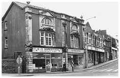 Co-operative building, Tylacelyn Road circa 1988 Penygraig