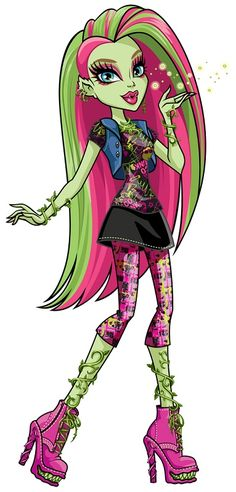 Venus' personality is like her style, as she quotes, 'bold and loud and in your face'. One of the biggest themes present in her personality is care for the environment, even going as far as controlling monsters to support her cause. She will do what she thinks is right, even if it means by force. http://monsterhigh.wikia.com/wiki/Venus_McFlytrap