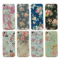 Fashion Flower Painted Hard Back Case Cover For Apple iPhone 5 5S Retro Chinese Wind High Quality Phone Shell Capa EC173 #clothing,#shoes,#jewelry,#women,#men,#hats,#watches,#belts,#fashion,#style
