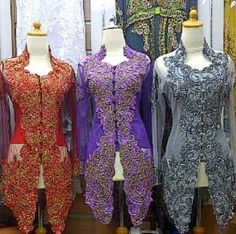 kumpulan model kebaya wisuda Model Kebaya Modern, Womens Fashion, Women's Fashion, Fashion Women, Woman Fashion, Woman Clothing, Women's Clothing Fashion