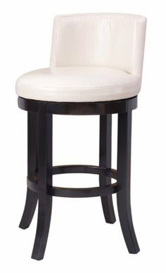 OSP Designs Metro Swivel Eco Leather Barstool, Cream by OSP Designs. $217.99. Seat swivels 90 degrees and returns to center. Attractive design compliments most any decor. Easy to assemble. 30-inch seat height barstool. Durable padded cream-colored bonded leather seat. Metro swivel barstool in cream eco leather. Save 46% Off!