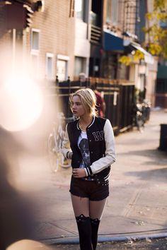 Fall Winter 2014 #Todomoda #BrooklynWinter ▶ #VarsityStyle #Fashion #Style Model: Paige Reifler, New York Models.