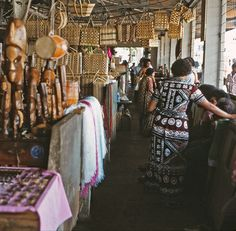 The Market in Suva, Fiji