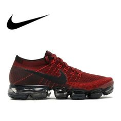 Original Nike Air VaporMax Be True Flyknit Breathable Running Shoes Men Outdoor Sports Low Top Athletic Official Sneakers Cheap Running Shoes, Nike Air Shoes, Shoes Sport, Nike Air Vapormax, Sneakers For Sale, Air Max Sneakers, Shoes Sneakers, Men's Shoes, Shoes Men