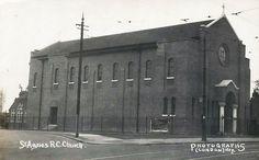 Old Postcard - St.Agnes Church. Cricklewood