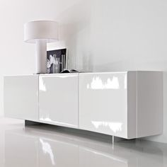 Lacquered Sideboard Bounces Light Nicely Modern SideboardSideboard BuffetDining Room