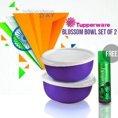 Buy Tupperware Blossom Bowl Set of 2   Wondermegamart.com