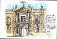 Rectorado Universidad de Sevilla, by Alfonso García