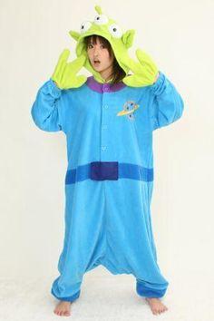 Disney Little green men Kigurumi Costume Pajamas Japan Sazac