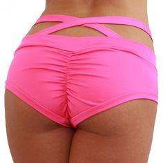 A fun twist on our most popular short. The Criss Cross Brazil Shorts gives some added flair and fun. The Criss Cross Brazil Shorts are comfortable and cute, and have all the same strengths of the original Brazil. Try wearing the straps up or down! Pole Fitness Clothes, Pole Dancing Fitness, Pole Dance, Pole Dancing Clothes, Dance Clothing, Dance Shorts, Dance Fashion, Rave Wear, Yoga